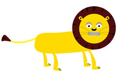 Lion vector cartoon Royalty Free Stock Images
