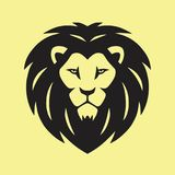 Lion Vector Icon Logo sauvage Image stock