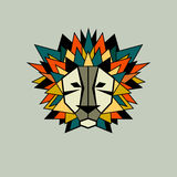 Lion vector icon Royalty Free Stock Images