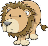Lion Vector Illustration Royalty Free Stock Image