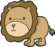 Lion Vector Illustration Stock Photography