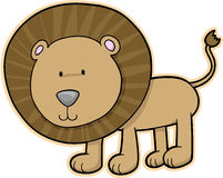 Lion Vector Illustration Stock Photo