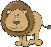 Lion Vector Illustration Royalty Free Stock Photography