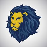 Lion Vector Mascot Logo Photo stock