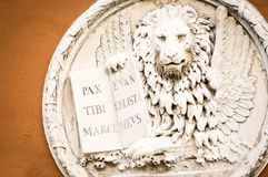 The lion of venice Stock Photos