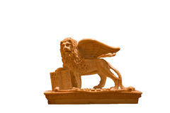 Lion of Venice. The symbol of Venice, one of the most beautiful cities in the world royalty free stock photos