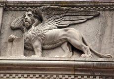 lion venice Arkivbilder