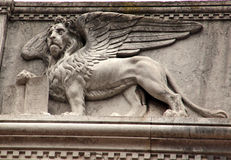Lion of Venice Stock Images