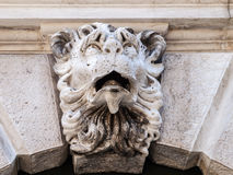 A carving of the Lion of Venice Stock Photography