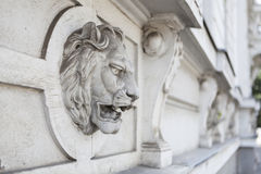 Lion Wall Royalty Free Stock Photos