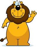 Lion Waving Stock Image