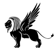 Lion wing tattoo Royalty Free Stock Photos