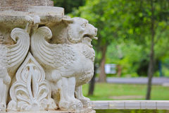 A lion with wings Stock Images
