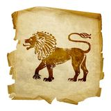 Lion zodiac icon Royalty Free Stock Photo