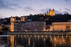 Lione, Francia Fotografia Stock