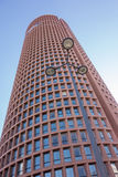 Lione Francia - 15 aprile 2015: Il giro parziale-Dieu è un grattacielo a Lione, Francia Immagini Stock Libere da Diritti