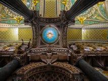 Lione - la Francia - la cattedrale Fotografie Stock