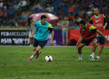 Lionel Andres Messi image stock