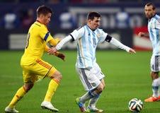 Lionel Andres Messi arkivbilder