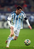 Lionel Andres Messi. During the football match between Romania and Argentina, 5th March 2014, National Stadium, Bucharest, Romania. Final score: 0-0 Stock Photography