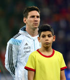 Lionel Andres Messi. During the football match between Romania and Argentina, 5th March 2014, National Stadium, Bucharest, Romania. Final score: 0-0 Stock Image