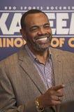 Lionel Hollins, primo allenatore delle reti di Brooklyn Fotografie Stock