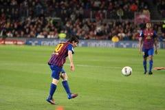 Lionel Messi -最佳的足球运动员 库存图片