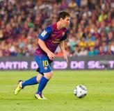 Lionel Messi Fotografia de Stock Royalty Free