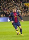 Lionel Messi Royaltyfria Foton