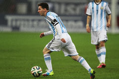 Lionel Messi Foto de Stock Royalty Free