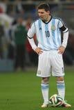 Lionel Messi lizenzfreies stockbild