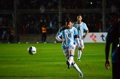 Lionel Messi Royalty-vrije Stock Foto