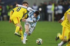 Lionel Messi in action Royalty Free Stock Photography