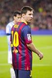 Lionel Messi de FC Barcelona Fotografía de archivo libre de regalías