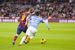 Lionel Messi de FC Barcelona Imágenes de archivo libres de regalías