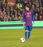 Lionel Messi del FC Barcelona Imagen de archivo libre de regalías