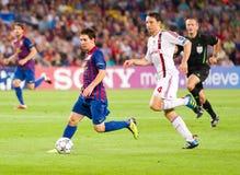 Lionel Messi in der Tätigkeit Lizenzfreies Stockfoto
