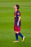 Lionel Messi (FC Barcellona) Fotografie Stock