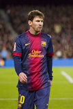 Lionel Messi of FC Barcelona Royalty Free Stock Photo