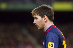 Lionel Messi of FC Barcelona Stock Photos