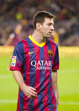 Lionel Messi of FC Barcelona Stock Images