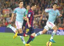 LIONEL MESSI FC BARCELONE Fotografia de Stock Royalty Free