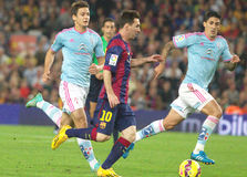 LIONEL MESSI FC BARCELONE Lizenzfreie Stockfotografie