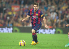 LIONEL MESSI FC BARCELONE Images stock