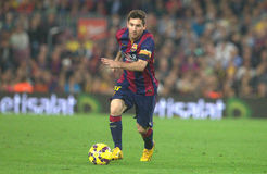 LIONEL MESSI FC BARCELONE Imagem de Stock Royalty Free