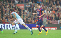 LIONEL MESSI FC BARCELONE Photographie stock