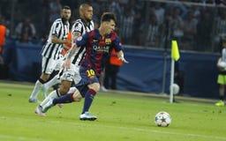 LIONEL MESSI FC BARCELONE Royalty-vrije Stock Foto