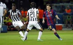 LIONEL MESSI FC BARCELONE Stock Foto's