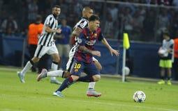 LIONEL MESSI FC BARCELONE Стоковая Фотография RF