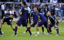 LIONEL MESSI FC BARCELONE Стоковая Фотография